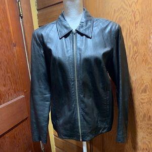 Style & Co. Leather Jacket